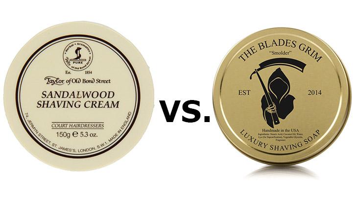 Shaving Cream vs Soap